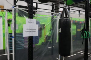your first boxing class